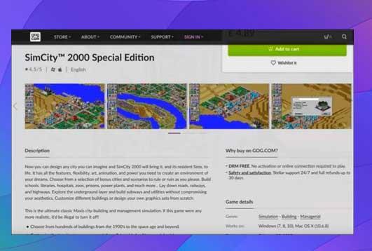 Reedición de juegos con GOG y DOSBOX