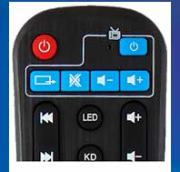 Remote Control For Android TV-Box/Kodi
