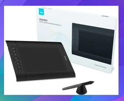 Tableta De Dibujo Gráfico Huion H610 Pro V2