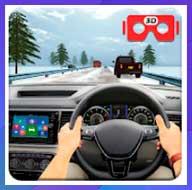 VR Traffic Racing In Car Driving: Juegos virtuales