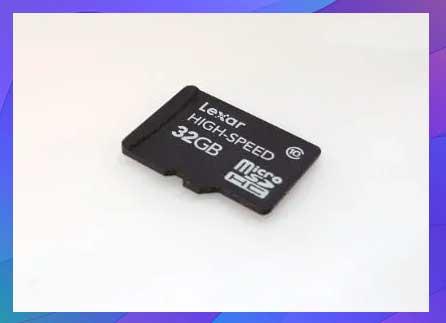 Velocidad de una tarjeta micro sd