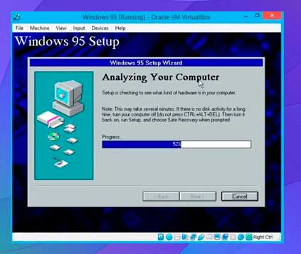 configurar una máquina virtual de Windows XP utilizando Virtualbox