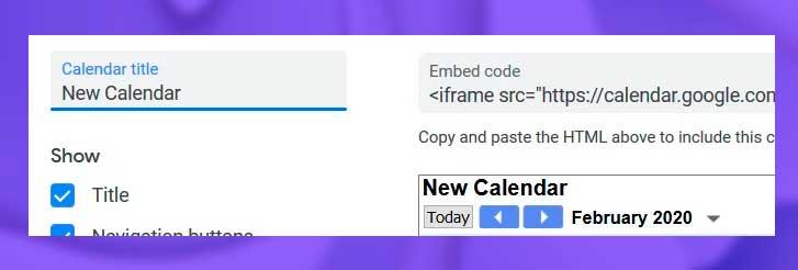 personalizar configuracion google calendario