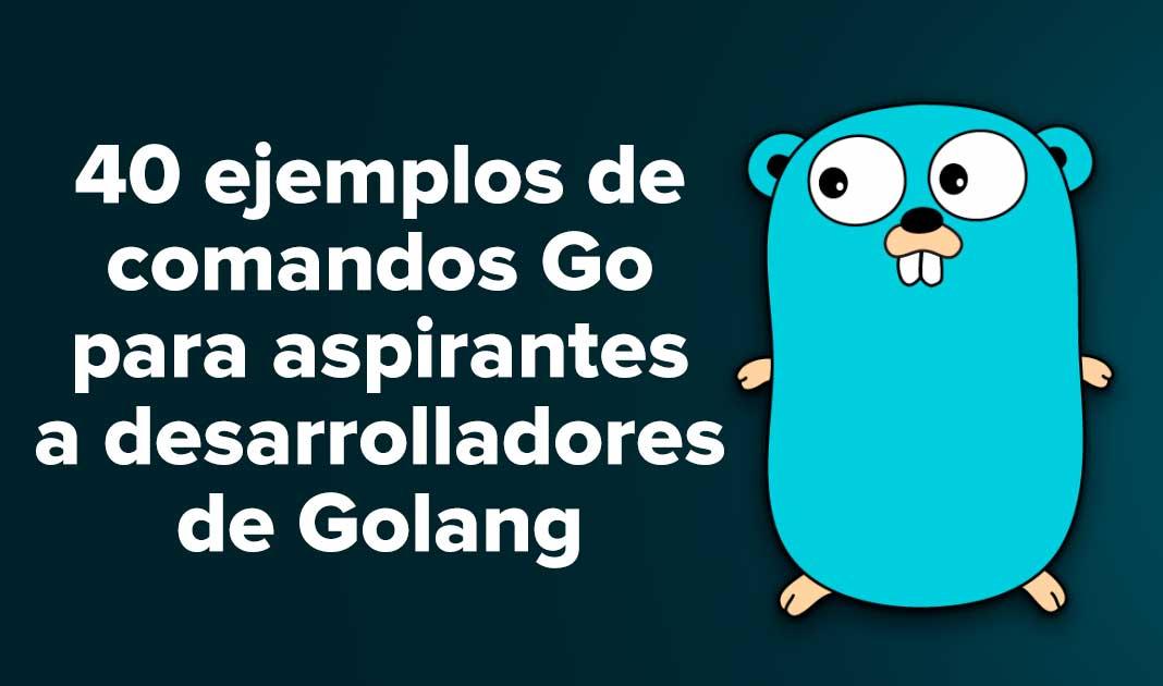 40 ejemplos de comandos Go para aspirantes a desarrolladores de Golang