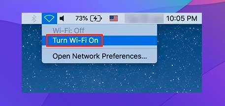 Activar Wi-Fi