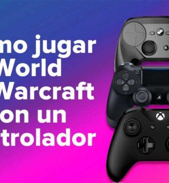 Cómo jugar World of Warcraft con un controlador