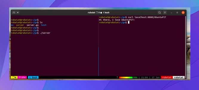Construyendo un programa Go