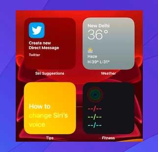 Diseña y personaliza una pantalla de inicio con solo widgets