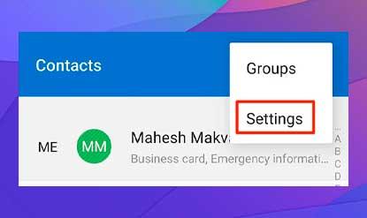 Exporta los contactos de tu Android a tu tarjeta SIM