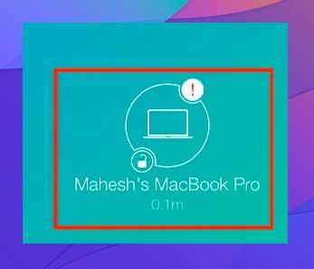 Haz lo mismo cuando quieras desbloquear tu Mac
