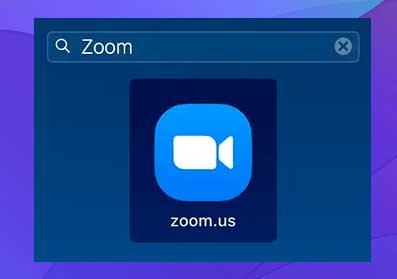 Inicie Zoom en su computadora