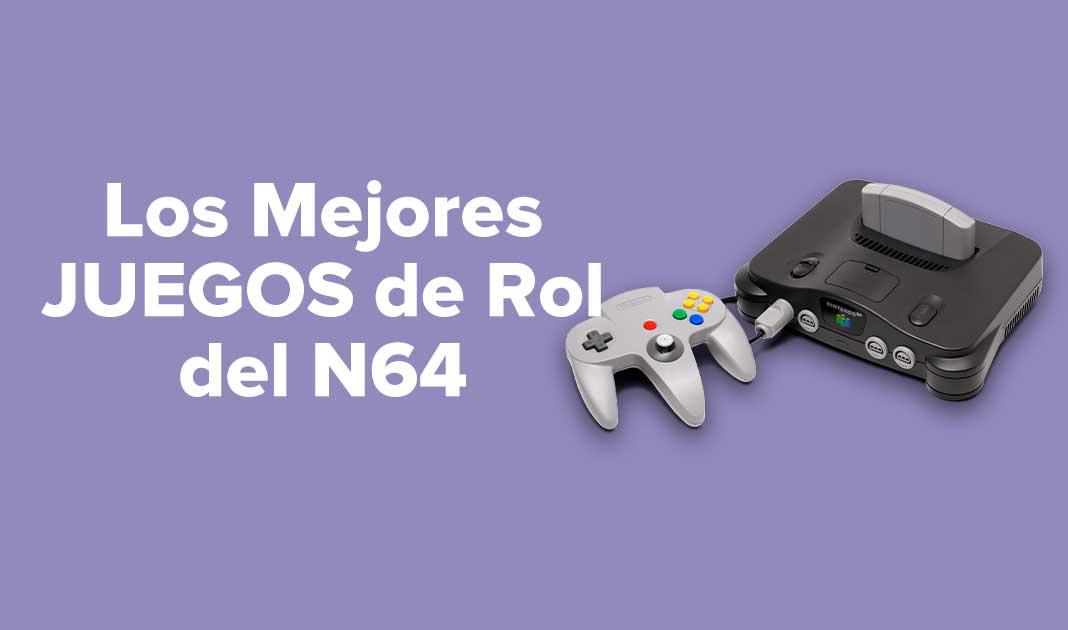 Los Mejores JUEGOS de Rol del Nintendo 64 (N64)