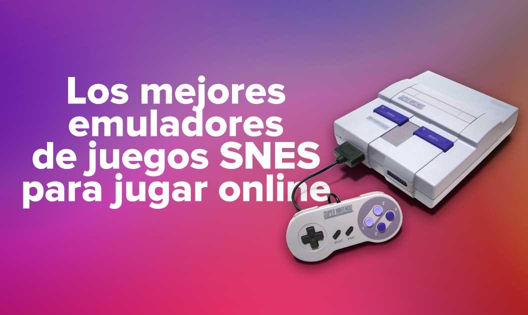 Los mejores emuladores de juegos SNES para jugar online
