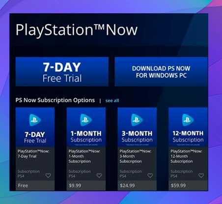PlayStation Now cuesta $ 9.99 por mes