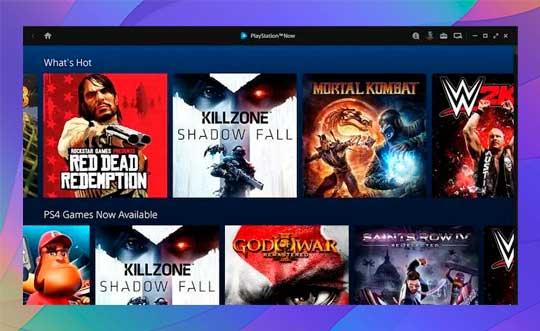 Puedes transmitir juegos de PlayStation Now a PC
