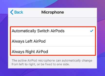 Seleccione una de las opciones disponibles en la pantalla