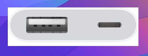 almacenamiento externo del iPhone