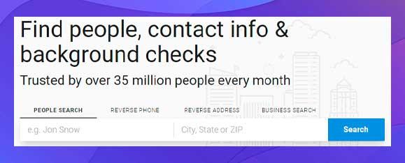 whitepages buscar numeros de personas