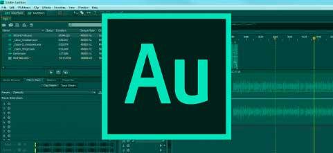 Adobe Audition extractor de audio