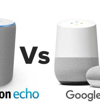 Amazon Echo Vs Google Home: ¿Cuál es mejor? ¿Cuál elegir?