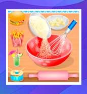 Cocinando en la cocina - Juegos de repostería para niñas