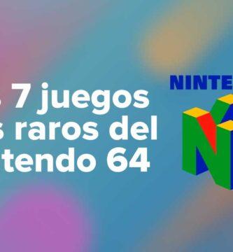 Los 7 juegos más raros del Nintendo 64 ( N64)