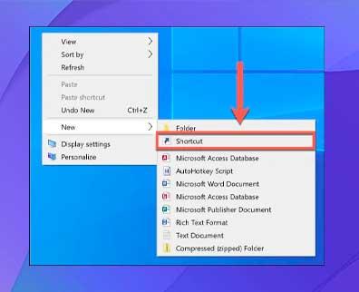 haga clic con el botón derecho en el Explorador de archivos de Windows